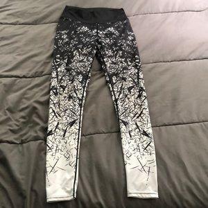 Cool patterned leggings!